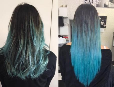 capelli-blu